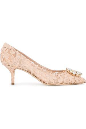 Dolce & Gabbana Mujer Tacones - Zapatillas Bellucci con cristales