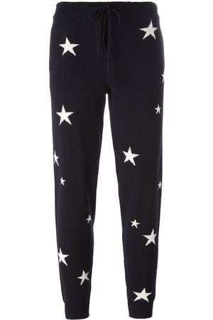 Chinti & Parker Pantalones de chándal con estrellas en intarsia