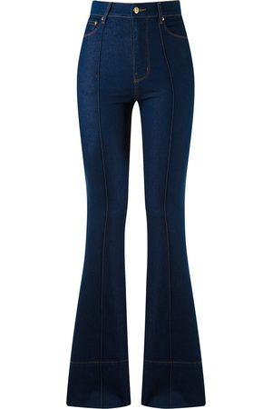 AMAPÔ High waist flared jeans