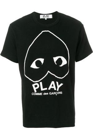 Comme des Garçons Camiseta con motivo de corazón
