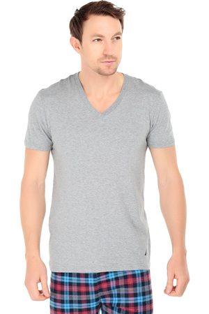 Camiseta Nautica cuello V algodón