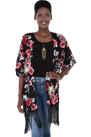 Poncho floral MAP