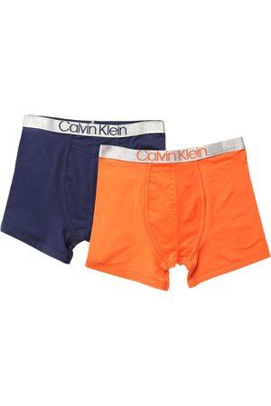 Boxers lisos Calvin Klein de algodón para niño