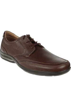 Zapato derby Flexi piel café obscuro