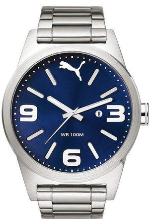 Puma Instinct PU104091004 Reloj para Caballero Plateado
