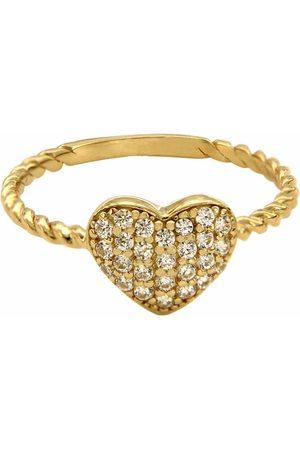 Anillo para dama Dinasti Corazón de oro 14 k