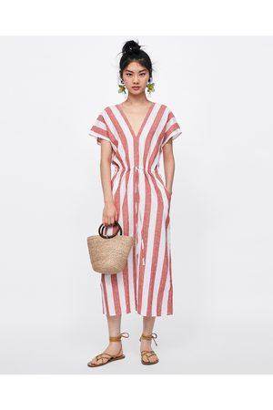 Vestido playa mujer zara