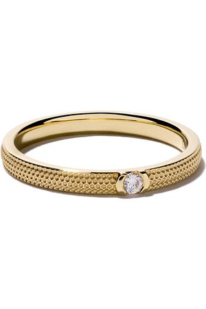 De Beers Anillo Azulea One-Diamond en oro 18kt
