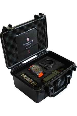 Box set de reloj para caballero Victorinox Inox 241800.1
