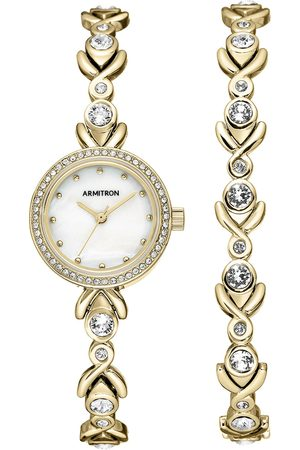 Box set de reloj para dama Armitron Dress 755544MPGPST