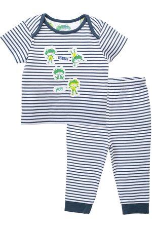 Pijama a rayas Mon Caramel de algodón para niño