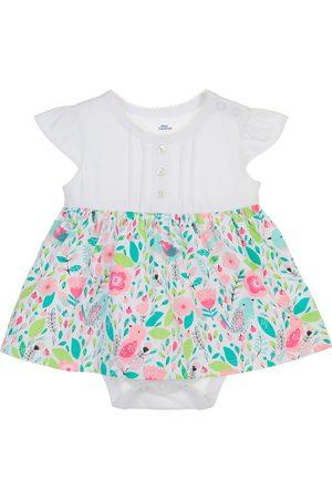Vestido pañalero con diseño gráfico Mon Caramel de algodón para bebé