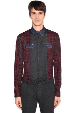 Dsquared2 Camisa Carpenter De Algodón A Cuadros