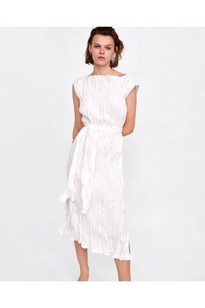 Maxi Vestidos de mujer Zara blanca ¡Compara ahora y compra al mejor ... 307015812de7