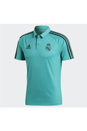 Playera polo Adidas Club Real Madrid poliéster fútbol para caballero