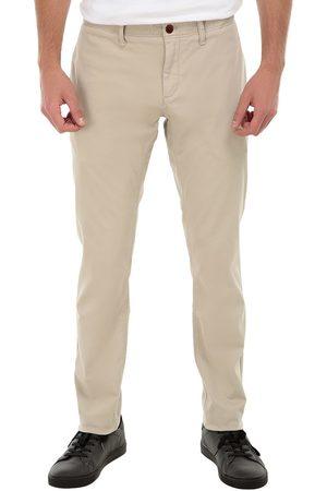Pantalón casual Tommy Hilfiger corte slim fit algodón