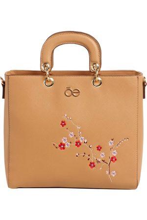 Bolsa satchel saffiano CLOE