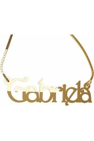 Pendantif personalizable para dama Fonelli de oro amarillo 14 k