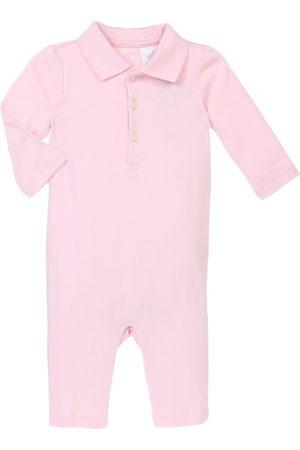 Mameluco liso Polo Ralph Lauren de algodón para niña