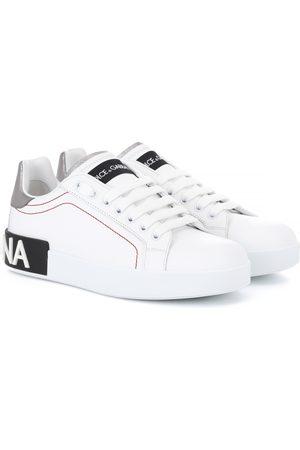 Dolce & Gabbana Mujer Tenis - Portofino leather sneakers