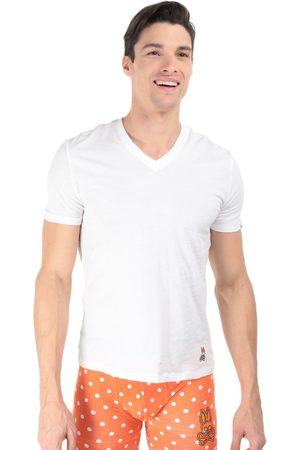 Camiseta Psycho Bunny cuello V algodón