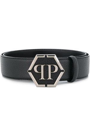 Philipp Plein Cinturón con hebilla del logo
