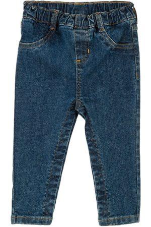 Jeans Mon Caramel corte regular azul para bebé