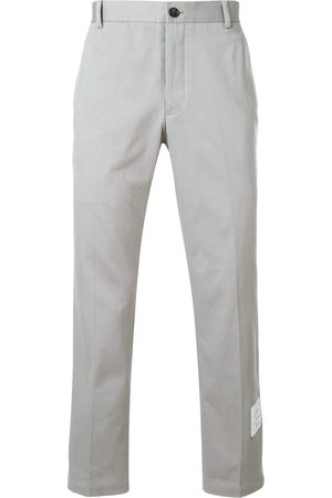 Thom Browne Hombre Chinos - Unconstructed Cotton Twill Chino Trouser