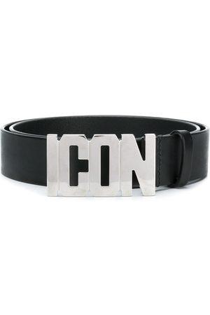 Dsquared2 Hombre Cinturones - Cinturón con placa Icon