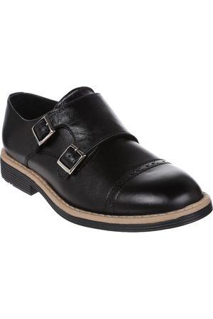 Niño Mocasines - Zapato liso JBE de piel para niño