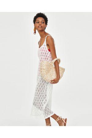 Maxi Vestidos de mujer Zara blancos ¡Compara ahora y compra al mejor ... d4ef8e823a6c
