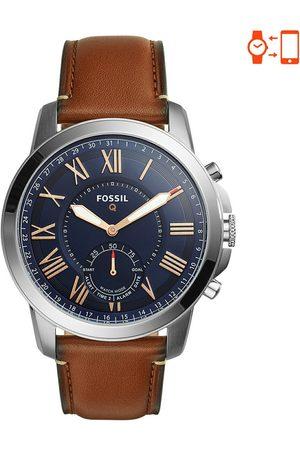 Smartwatch Híbrido para caballero Fossil Q Grant FTW1122 café