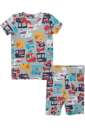 Pijama con diseño gráfico Gymboree de algodón para niño