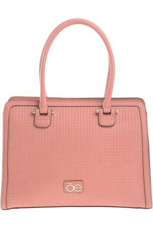 Bolsa satchel texturizada CLOE