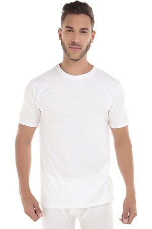 Camiseta Rinbros cuello redondo blanca