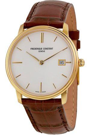 Reloj para caballero Frederique Constant Gents Slimline FC-220NW4S5 café