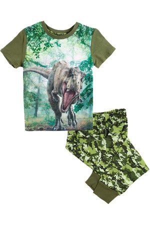 Pijama con diseño gráfico Jurassic World de algodón para niño