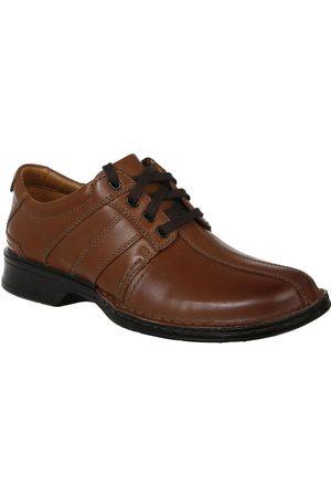 Hombre Oxford - Zapato derby Clarks piel marrón