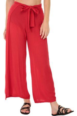 Ropa Playa Pantalones Y Jeans De Mujer Color Rojo Fashiola Mx