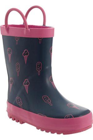 Bota para lluvia Mon Caramel para niña