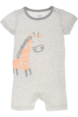 Jumpsuit jaspeado Gymboree de algodón para bebé