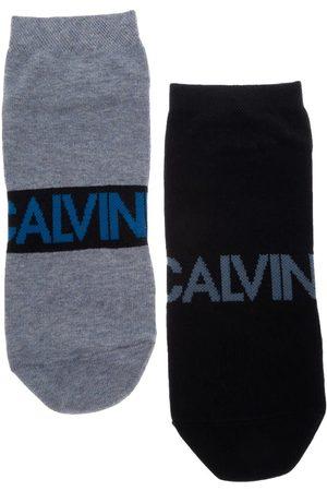 Calcetín Calvin Klein tín algodón