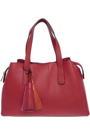 Bolsa satchel lisa Guess roja