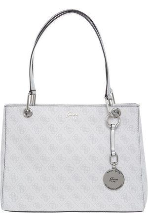 Bolsa satchel logotipo Guess