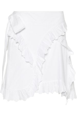 Isabel Marant, Étoile Milou embroidered cotton miniskirt
