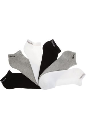 Calcetín Calvin Klein tín algodón blanco