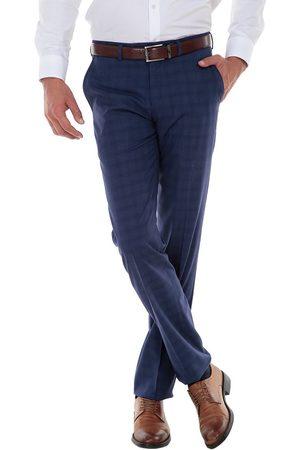 Pantalón de vestir a cuadros JBE corte regular fit