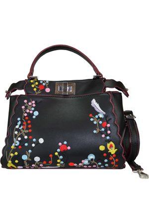 Bolsa satchel bordada Huser