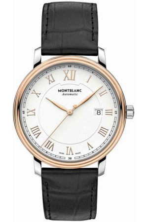 Montblanc Tradition Date Automatic 114336 Reloj para Caballero Color Negro