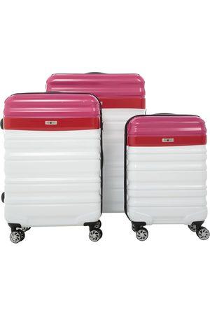 Set de maletas White Rabbit Lucky Pink